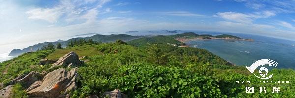 海王九岛全景图